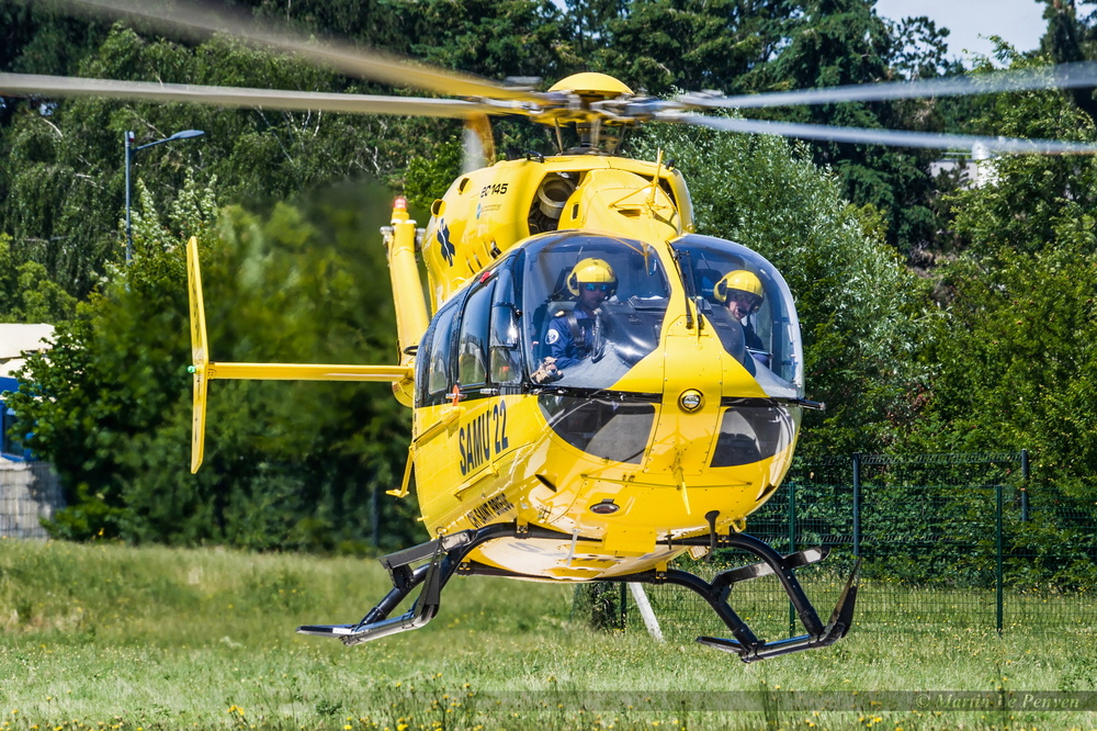 Airbus Helicopters EC-145 T2 SAMU 22 F-HSOM