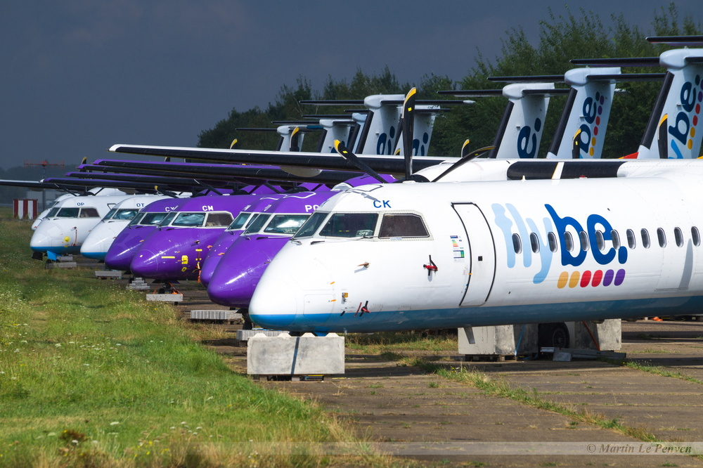Bombardier Dash 8-Q402 Flybe G-JECK