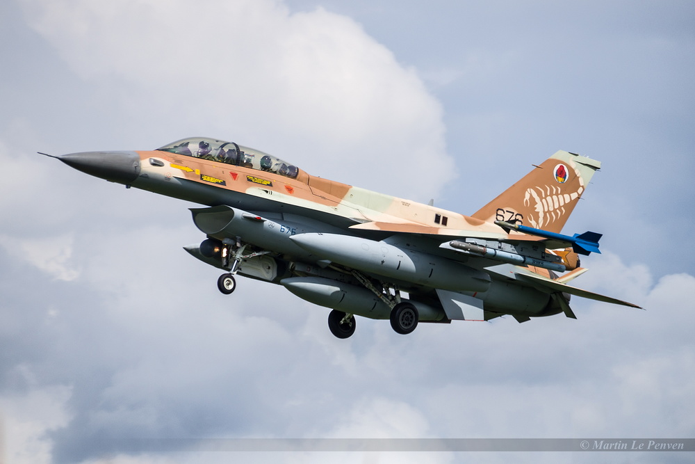 General Dynamics F-16D Barak Israël Air Force 676
