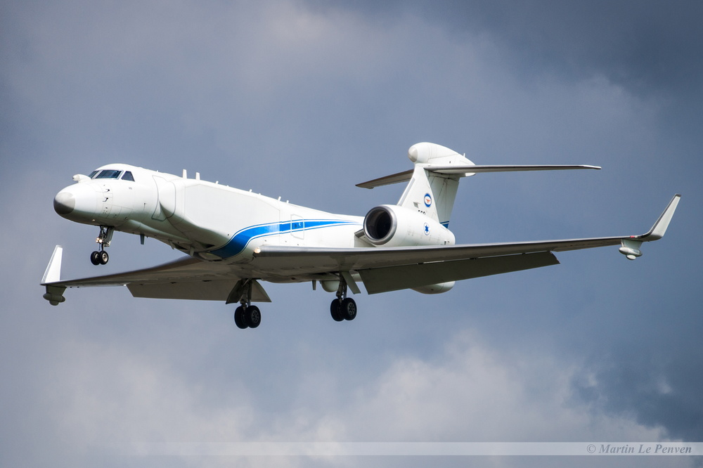 Gulfstream G550 Nachshon Israël Air Force 569
