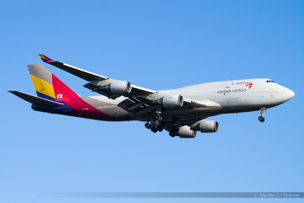 Boeing 747-446(BDSF) Asiana Cargo HL7618
